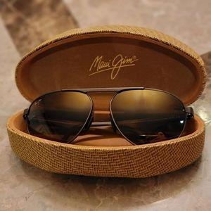 Maui Jim Polarized Aviator Sunglasses
